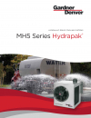 MH5 Hydrapak - Hydraulic Drive Cooling System