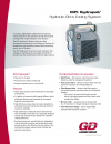 DH5 Hydrapak - Hydraulic Drive Cooling System brochure